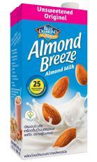 [TẶNG 1 HỘP 946ml vị ngẫu nhiên] Sữa hạt hạnh nhân ALMOND BREEZE NGUYÊN CHẤT KHÔNG ĐƯỜNG 946ml
