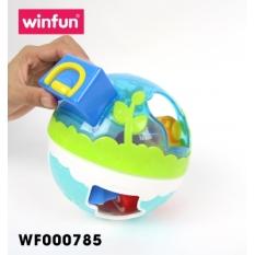 Bóng thả trẻ em hình khối ngộ nghĩnh kết hợp bóng tập bò Winfun 0785