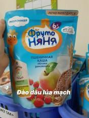 Bột ăn Dặm Fruto Nga gói 200g (đào dâu lúa mạch 6m+), cam kết hàng đúng mô tả, chất lượng đảm bảo, an toàn đến sức khỏe của trẻ