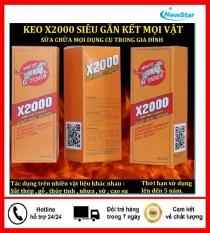 [có video hướng dẫn]Keo dán X2000-Keo dán đa năng siêu dính X2000 dán được mọi vật liệu Keo dán gỗ, thủy tinh, kim loại, sắt, gốm sứ, nhựa