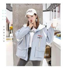 Áo khoác nhẹ chống nắng rẻ đẹp in hình FISH BONE 2019
