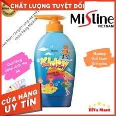 Sữa Tắm Gội Cho Bé MISTINE KIDDY 400ml Mùi Thể Thao + Tặng Kèm Khăn Mặt – TiVa Mart