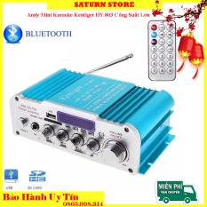 Amply Nào Tốt, Amply 12V, Amly mini Karaoke Kentiger HY 803 Công Suất Lớn Âm Thanh Hay, Âm Bass Chuẩn, Kết Nối Bluetooth Ổn Định, Thiết Kế Nhỏ Gọn Dễ Lắp Đặt – BIGSALE 50%