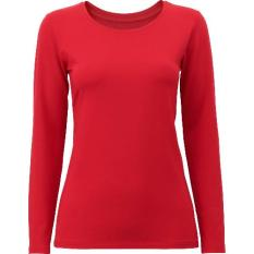 Áo giữ nhiệt cổ tròn thời trang, ấm áp (Đỏ)