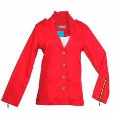 Áo khoác Kaki nữ 50-55KG Tri Lan AKN007 ( Đỏ)