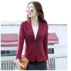 Áo khoác vest nữ TITISHOPVN AKVN121 ( Đỏ)