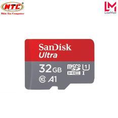 Thẻ nhớ MicroSDHC SanDisk Ultra A1 32GB Class 10 U1 98MB/s – box Hoa (Đỏ) – Nhat Tin Certified Store