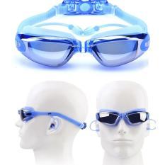 Kính bơi chống UV kèm nhét tai