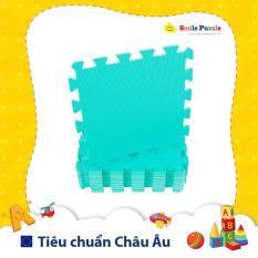 Thảm xốp cho bé – đơn màu (10 miếng, tổng kích thước 0.6mx1.5m) Smile Puzzle KHÔNG MÙI CHUẨN CHÂU ÂU