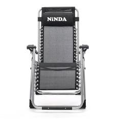 Ghế thư giãn- Ghế tựa lưng- Ghế xếp NiNDA ND G830 có khoá sắt