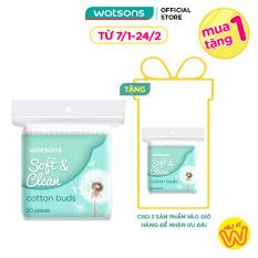 Tăm Bông Watsons Cotton Buds 80 Que