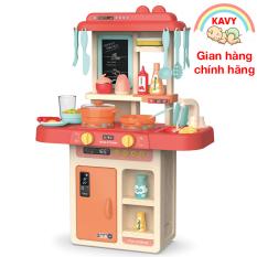 Bộ đồ chơi nấu ăn đồ chơi đồ hàng cho bé có nhạc và đèn, nhựa nguyên sinh an toàn – KAVY