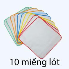 Set 10 miếng lót 2 lớp chống thấm cao cấp Doreamon 30x30cm