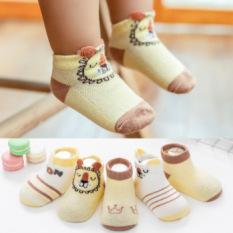 Sale !!! Sét 5 Đôi Tất Cổ Ngắn Hàn Quốc Cho Bé (SP001135 )Shop Phúc Yến