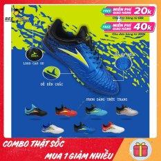 Giày đá bóng nam sân cỏ nhân tạo Mira Lux 20.1 TF – Giày đá banh chất lượng cao, da Microfiber, khâu full đế