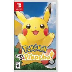 Đĩa Game Switch – Pokémon: Let's Go, Pikachu!