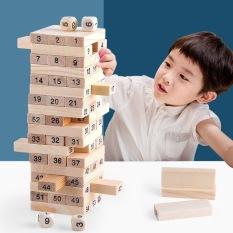 [Lấy mã giảm thêm 30%]Đồ chơi rút gỗ 54 thanh loại to – Đồ chơi thông minh cho bé