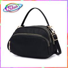 Túi đeo chéo thời trang nữ hình bầu trơn du lịch SPO 50 Shalla