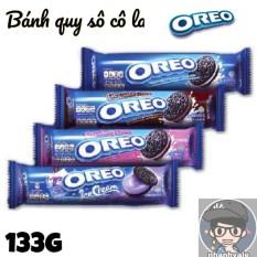 Bánh quy sô cô la OREO 133g hương vani / sô cô la / dâu / quất – Sô cô la