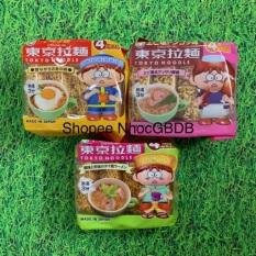 Mì ăn liền Tokyo Noodle cho trẻ em 120gr (30gr x 4 gói) – Vị gà (vàng)