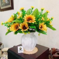 Bình hoa để bàn – Hoa hướng dương