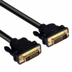 Dây cáp DVI-D (24+1) 1.5m UNITEK YC-208DGY chống nhiễu loại cực tốt hàng cực chuẩn bảo hành chính hãng 12 tháng