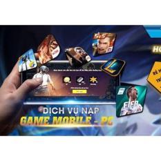 Nạp game GARENA, VTC GAME bằng SMS VIETTEL