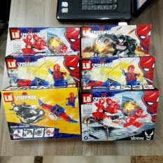 Lego Spiderman Đồ chơi lắp ráp xếp hình Giáo dục rèn trí thông minh sáng tạo phát triển kĩ năng