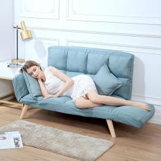 Ghế sô pha lười,sofa,sô pha có thể gấp lại sô pha đa chức năng chân gỗ chéo nhiều người dùng
