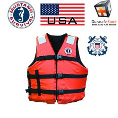 Áo Phao Cao Cấp MUSTANG MV3104 T1 Universal Fit Industrial Flotation Vest Universal Size (SOLAS)