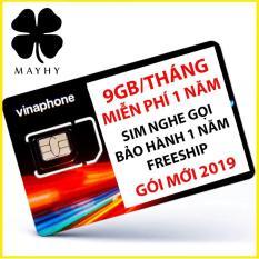 Sim 4G Vinaphone 9GB/tháng – trọn gói 1 năm không nạp tiền mua data