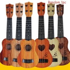 Màu Ngẫu Nhiên 1 Cái Chất Lượng Cao Hàng Mới Về Món Quà Sinh Nhật Trẻ Em Kids Guitar Mô Phỏng Giáo Dục Phát Triển Đồ Chơi Đàn Ukulele Nhỏ Nhạc Cụ