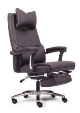 Ghế làm việc có gác chân và đầu tựa MNTC-20711-U2 (ĐEN)