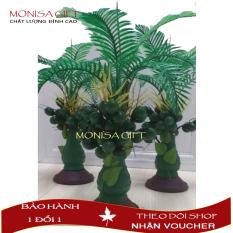 [XẢ KHO 3 NGÀY] Cây Cau Trang Trí Monisa Gift Mang Tài Lộc Đến Mọi Nhà – Cây Giả Đẹp, Hoa Vải Lụa Đẹp Hoa Giả Đẹp