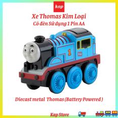 Xe Thomas kim loại, chạy trên đường ray xe lửa gỗ