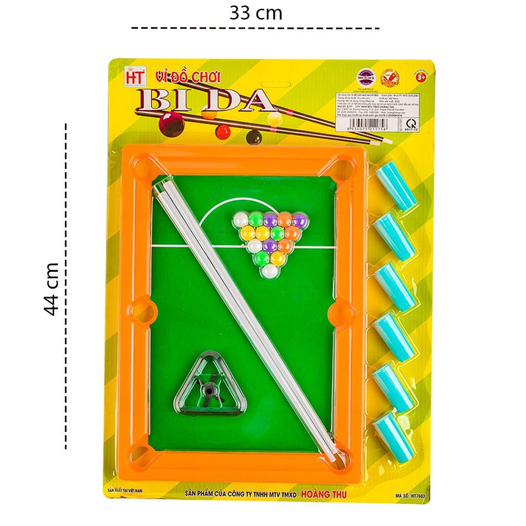 Đồ chơi phát triển trí tuệ cho bé giúp bé thông minh - đồ chơi bida minicho bé HT7603- đồ...