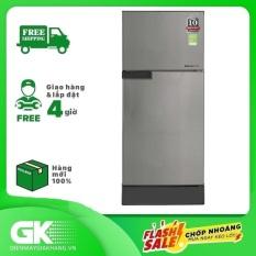 Tủ lạnh Sharp Inverter 165 lít SJ-X176E-SL,công nghệ kháng khuẩn, khử mùi Nano Ag+,tiết kiệm điện, bảo hành 12 tháng