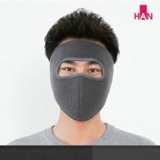 Khẩu trang Ninja vải nỉ mềm mại thấm hút tốt chống nắng chống bụi chạy xe ôm khít vừa khuôn mặt thích hợp cho cả nam và nữ – Khau trang Ninja 2 lop vai ni bong mem mai tham hut tot chong nang chong bui chay xe om khit vua khuon mat