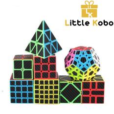Bộ Sưu Tập Rubik Carbon MoYu MeiLong 2×2 3×3 4×4 5×5 Pyraminx Megaminx Skewb Square-1 SQ1 Tam Giác 12 Mặt Rubic