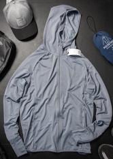 Áo chống nắng nhật chất dệt kim lỗ thoáng làm mát cơ thể bảo vệ da chông tia UV