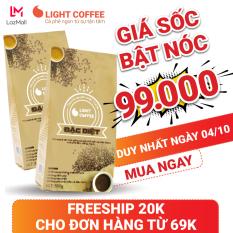 [GIÁ SỐC 99K] 1KG Cà phê bột Light coffee Đặc biệt , đậm , đắng , mạnh, cà phê nguyên chất không tẩm ướp, không pha trộn tạp chất , giá rẻ