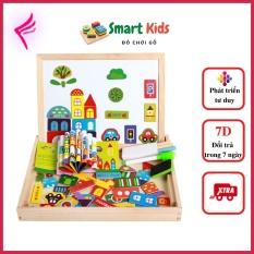 [Giảm giá thần tốc] Đồ chơi cho bé gái bé trai thông minh phát triển trí tuệ, bảng nam châm ghép hình cho bé từ 1-6 tuổi