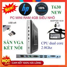 [NEW 100%]Case máy tính pc MINI HP T630 RAM 4GB và 8G,SSD 120GB-Cây mini Gamming Cực khỏe chơi game văn phòng giải trí