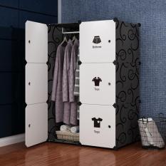 Tủ nhựa đựng quần áo đa năng dễ lắp ráp 100x70x35 J0701
