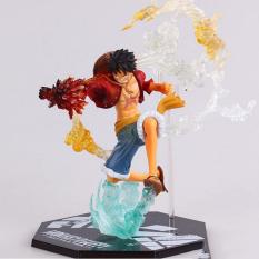 [Hộp Đẹp] Mô hình Figure Luffy Hàng Chuẩn – Fire Battle One Piece – Monkey D Luffy
