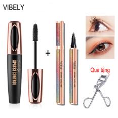 VIBELY Liquid Black Eyeliner Luxurious Bút kẻ mắt dạ SIÊU NÉT bút dạ kẻ mắt không lem trôi thấm nước mắt