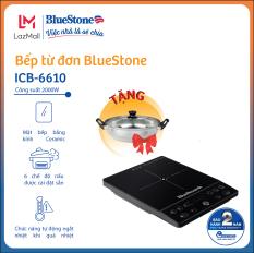 Bếp từ đơn BlueStone ICB-6610 – Công suất 2000W – Tặng kèm nồi – 6 chức năng nấu -Bảo hành 24 tháng – Hàng Chính hãng