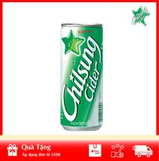 [ HÀNG CÔNG TY NHẬP KHẨU ] Nước Giải Khát Soda Vị Chanh Chilsung Cider 250ml