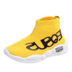 Giày trẻ em siêu thoáng khí, không gây cảm giác khó chịu khi đeo dành bé gái, bé trai 1 – 8 tuổi phong cách HQ