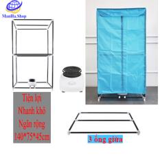 Tủ sấy khô quần áo siêu nhanh siêu tiện lợi gia đình, Máy sấy quần áo nhỏ kháng khuẩn, Đa năng 2 tầng chắc chắn